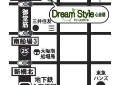 心斎橋ダイエットカフェの地図